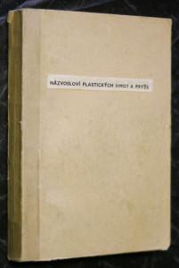 náhled knihy - Názvosloví plastických hmot a pryže