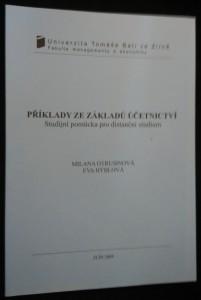 náhled knihy - Příklady ze základů účetnictví : studijní pomůcka pro distanční studium