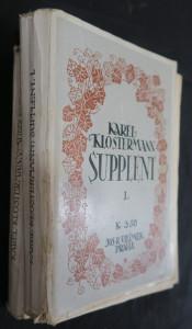 náhled knihy - Supplent (první 2 svazky ze 4)