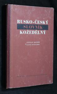 náhled knihy - Rusko-český slovník kožedělný