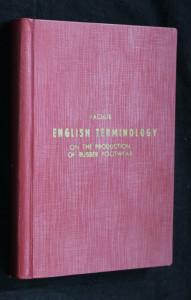 náhled knihy - Anglická terminologie výroby pryžové obuvi - English Terminology on the Production of Rubber Footwear