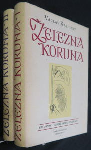náhled knihy - Železná koruna. I. a II. díl
