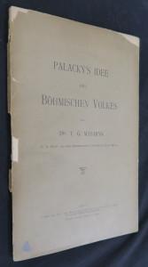 náhled knihy - Palacký's Idee des böhmischen Volkes