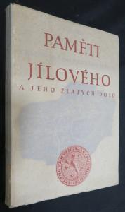 náhled knihy - Leopolda Čiháka Paměti královského horního města Jílového a jeho zlatých dolů