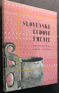 náhled knihy - Slovenské lidové umenie I. a II. díl