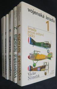 náhled knihy - Vojenská letadla: díl I.-V.