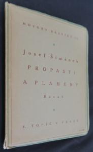 náhled knihy - Propasti a plameny : básně 1910-1916
