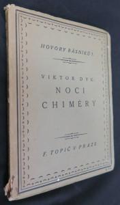 náhled knihy - Noci chiméry : básně 1900-1916