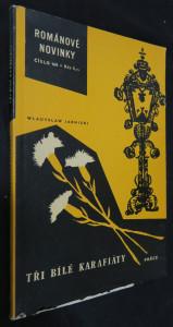 náhled knihy - Tři bílé karafiáty