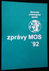 náhled knihy - Zprávy Moravského ornitologického spolku 1992