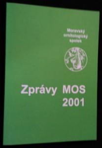 náhled knihy - Zprávy Moravského ornitologického spolku 2001