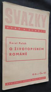 náhled knihy - O životopisném románě (časopis Svazky úvah a studií č. 62)