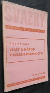 náhled knihy - Vlast a národ v českém písemnictví (časopis Svazky úvah a studií č. 42)