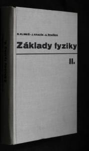 náhled knihy - Základy fyziky II.: Elektřina a magnetismus, Optika, Speciální teorie relativity