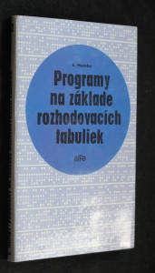 náhled knihy - Programy na základe rozhodovacích tabuliek