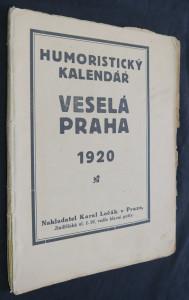 náhled knihy - Humoristický kalendář: Veselá Praha