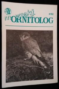 náhled knihy - Moravský ornitolog 4/1992