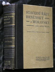 náhled knihy - Stavební řády brněnský a moravský s příslušnými zákony, nařízeními, výnosy, výkladem, poznámkami a judikaturou