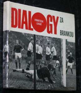 náhled knihy - Dialogy za brankou