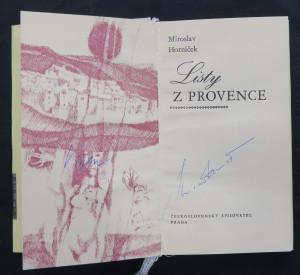 náhled knihy - Listy z Provence (včetně autogramu autora i ilustrátora)