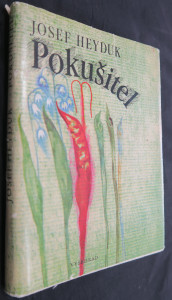 náhled knihy - Pokušitel (včetně věnování a podpisu autora)