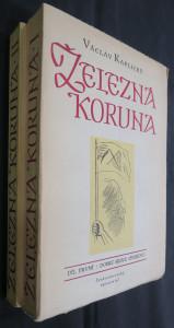 náhled knihy - Železná koruna I. a II. díl
