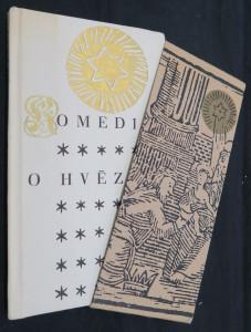 náhled knihy - Komedie o hvězdě : Vypodobnění s osobami narození Krista Pána, s rozvržením mluvy jejich v řeči vázané dle starého vydání