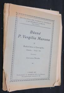 náhled knihy - Bukolika a Georgika - Zpěvy pastýřské a rolnické
