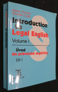 náhled knihy - Introduction to legal English. I. díl