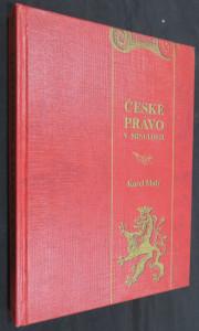 náhled knihy - České právo v minulosti