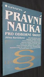 náhled knihy - Právní nauka pro odborné školy