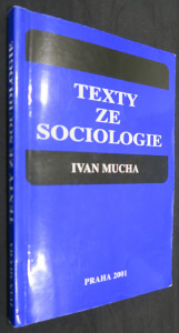 náhled knihy - Texty ze sociologie