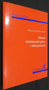 náhled knihy - Obecné mezinárodní právo v dokumentech