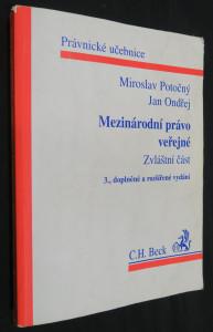 náhled knihy - Mezinárodní právo veřejné : zvláštní část