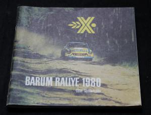náhled knihy - Barum Rallye 1980: Oficiální program