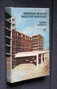 náhled knihy - Montované betonové skeletové konstrukce : Určeno [též] stud. stř. a vys. škol stavebního směru