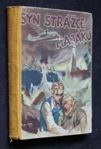 náhled knihy - Syn strážce majáku : dobrodružný román pro chlapce