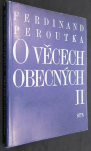 náhled knihy - O věcech obecných II: (výbor z politické publicistiky)