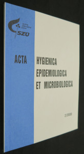 náhled knihy - Hygienica epidemiologica et microbiologica