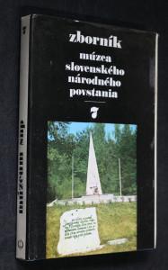 náhled knihy - Zborník Múzea Slovenského národného povstania 7