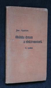 náhled knihy - Obsluha dynam a elektromotorů