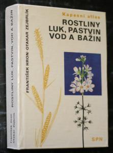 náhled knihy - Rostliny luk, pastvin, vod a bažin : kapesní atlas