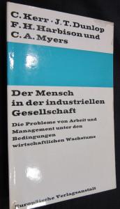 náhled knihy - Der Mensch in der industriellen Gesellschaft