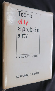 náhled knihy - teorie elity a problémy elity