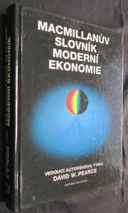 náhled knihy - Macmillanův slovník moderní ekonomie : čtvrté vydání