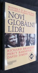 náhled knihy - Noví globální lídři : Richard Branson, Percy Barnevik, David Simon
