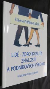 náhled knihy - Lidé - zdroj kvality, znalostí a podnikových výkonů