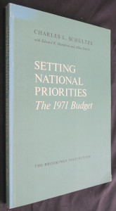 náhled knihy - Setting national priorities : The 1971 Budget