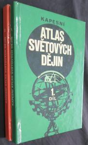 náhled knihy - Kapesní atlas světových dějin 1. a 2. díl
