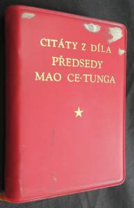 náhled knihy - Citáty z díla předsedy Mao Ce-tunga